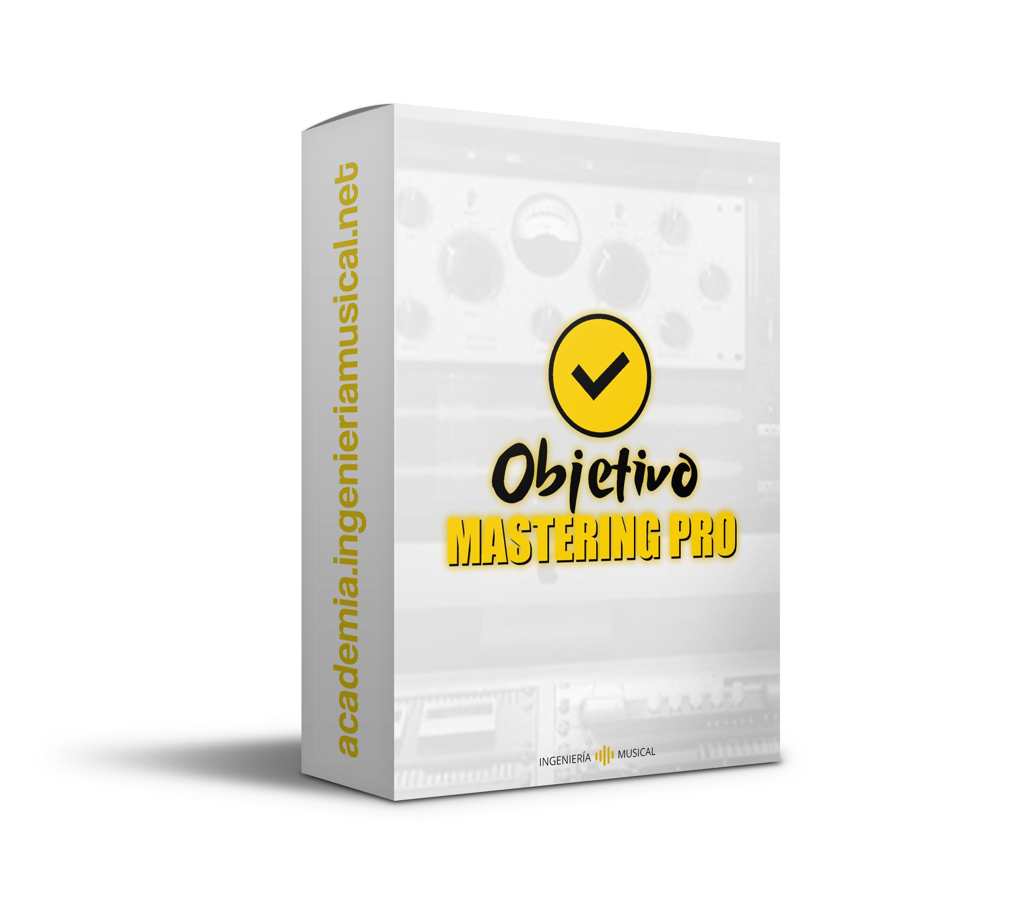 Objetivo Mastering Pro